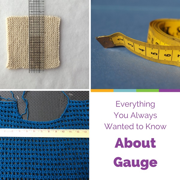 CVFG Everything You've Always Wanted to Know About Gauge with Edie Eckman (for Knitters and Crocheters)