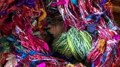 Blending (and Spinning) Unusual and Upcycled Fibers